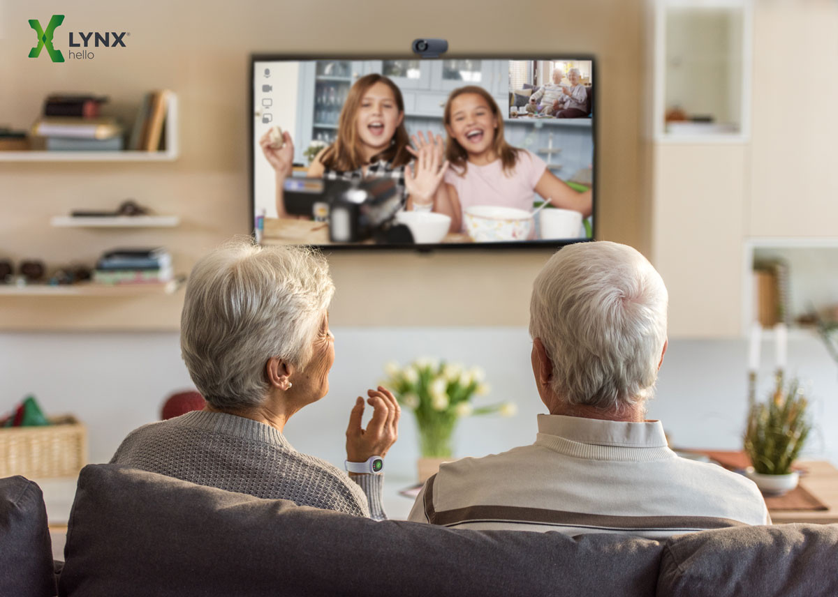 Although for the elderly who live in the over 1000 residential care centres in Belgium video calling would be an ideal way to break through their social isolation ...
