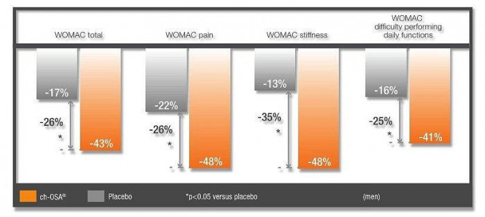 WOMAC grafiek