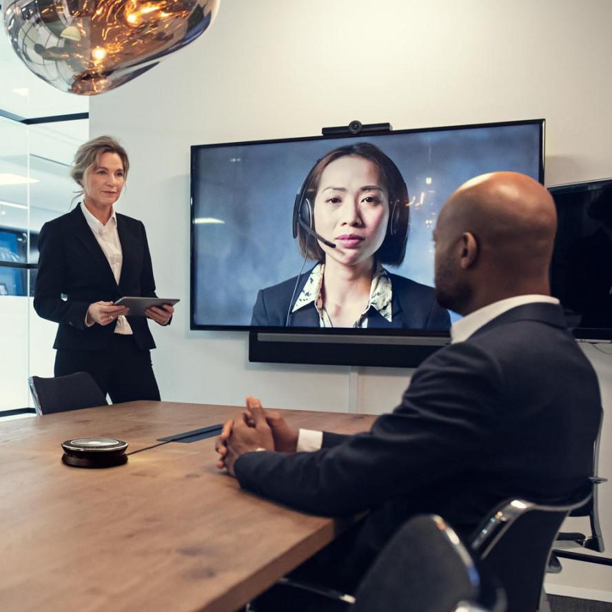 Digitale meeting room