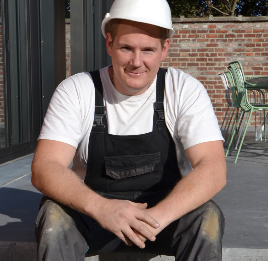 Kenny, werknemer bij All-Bouw