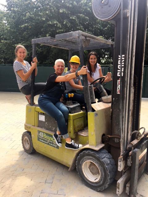 Vrouwen in de bouw bij All-Bouw