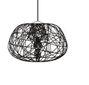 Lightornament ceiling lighting combination 3 detail 1, carbon decoration