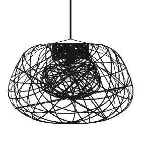 Lightornament ceiling lighting combination 3 detail 2, carbon decoration