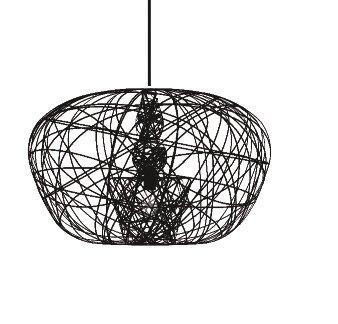 Lightornament ceiling lighting combination 3 detail 3, carbon decoration