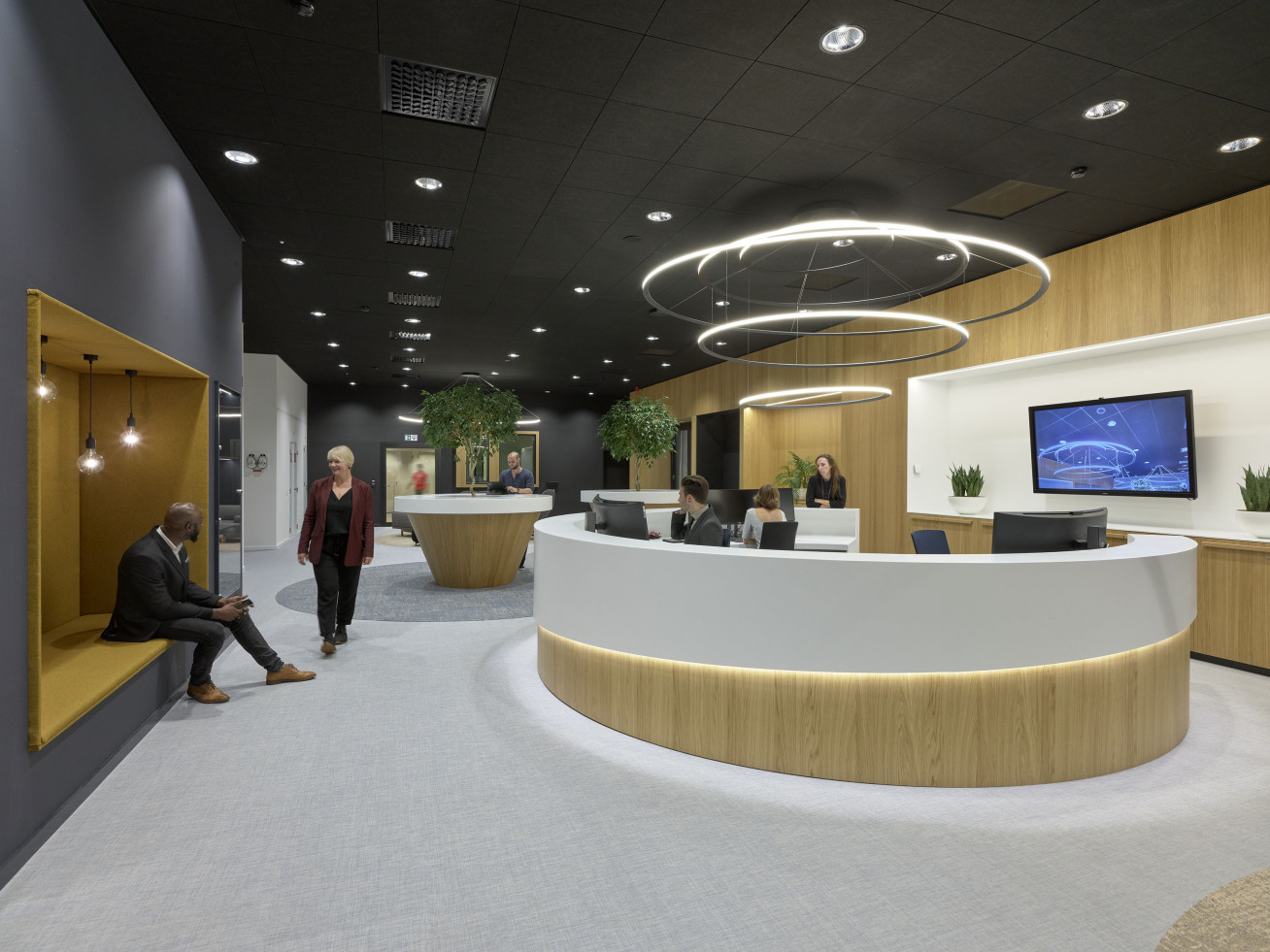Banking on comfort and contemporary aesthetics  When it comes to banks, one usually...
