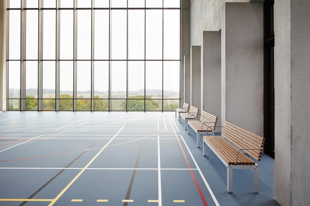 UZ Leuven – Campus Pellenberg Sports and recreation rooms at Campus Pellenberg from UZ Leuven...