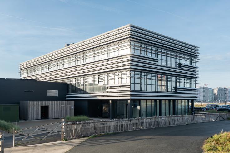 Otary Oostende. Industriegebouw. Kantoorgebouw. Industrieel gebouw. Industriebouw.