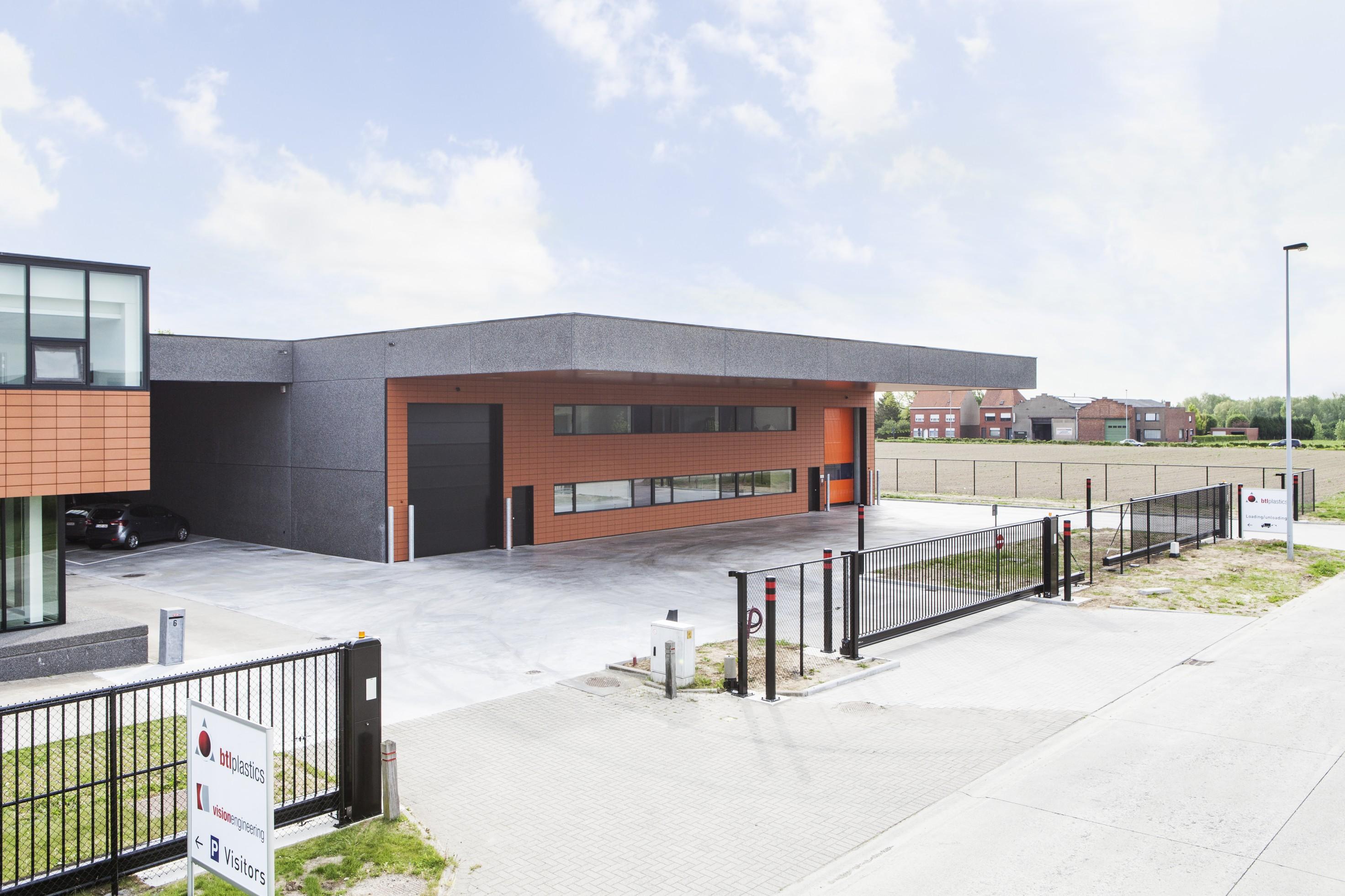BTL Plastics_uitbreiding productie en opslagruimte_Wielsbeke