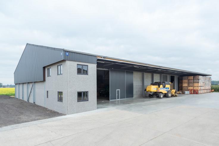 Loodsenbouw, loods bouwen, landbouwloods, industriebouw, hangarbouw, hangar bouwen, nieuwe hangar