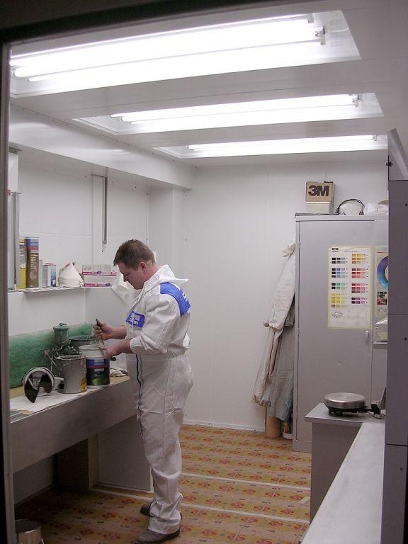 Standaard labo met werktafel