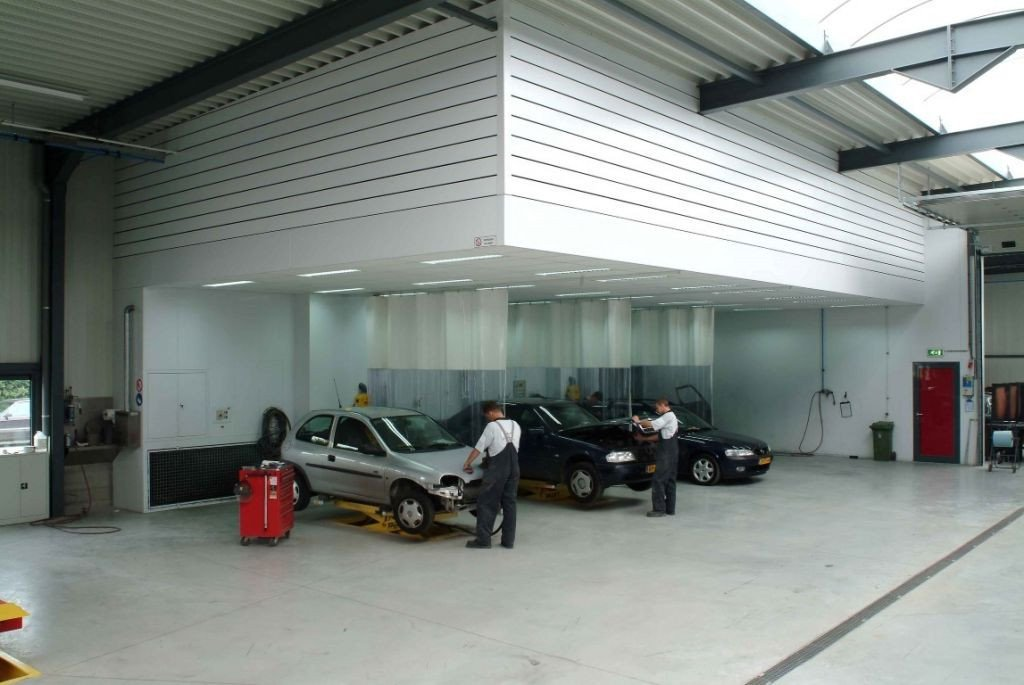 Dust extraction for automobile