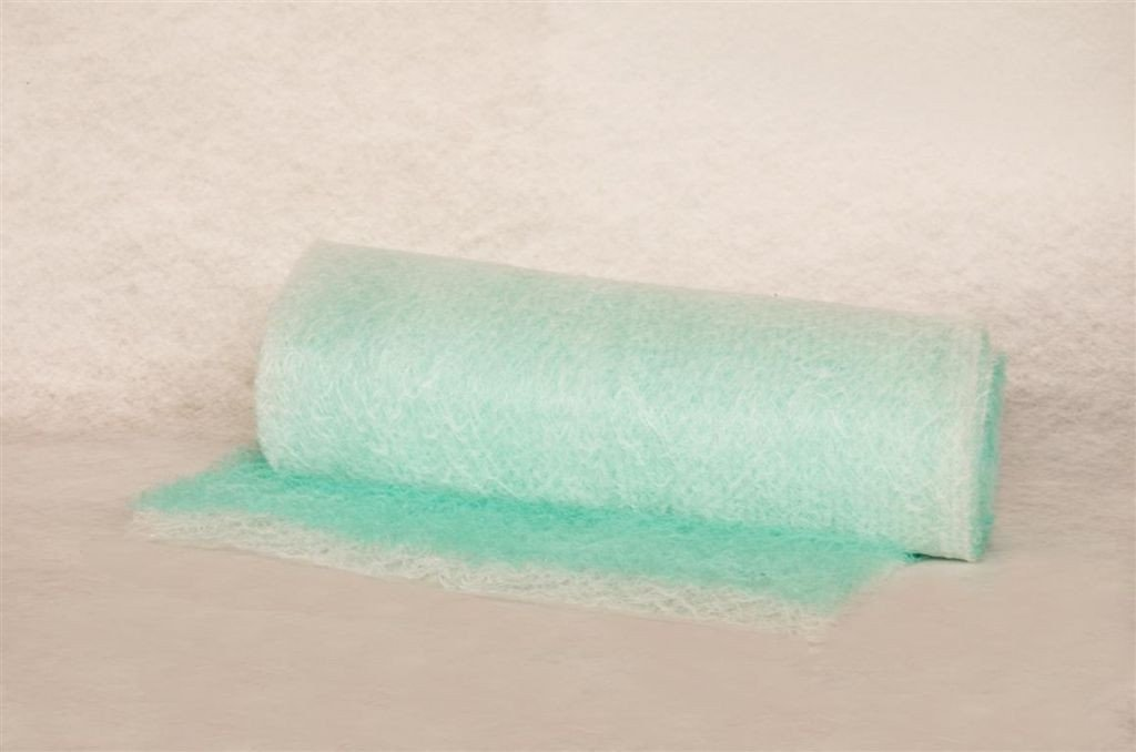 Verfvangfilter voor voornamelijk solventhoudende lakken
