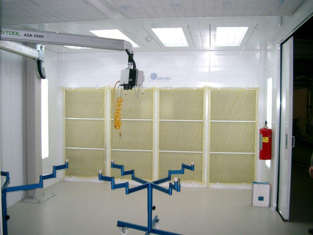 Schuurbox cabine voor kantoormeubelen