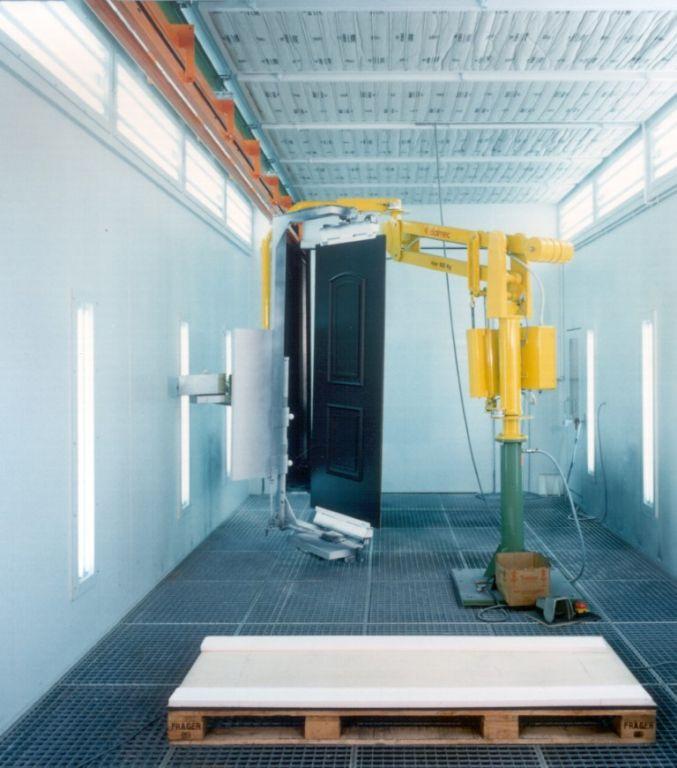 Robot om houten deuren te manipuleren