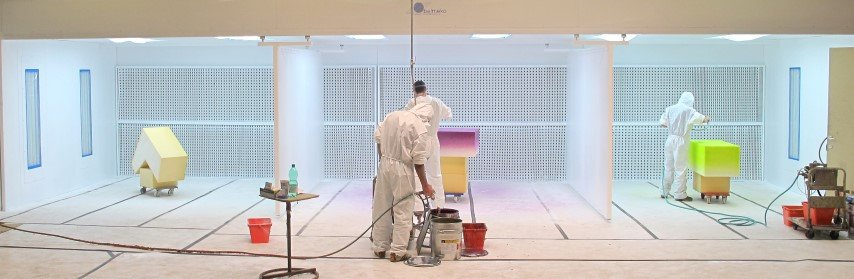 Spraywalls for different painters