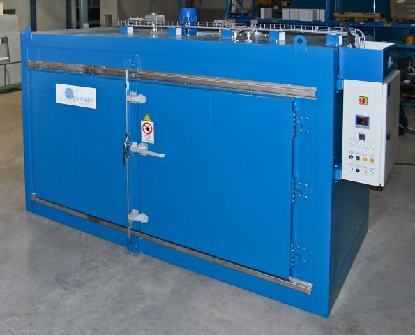 Compacte warmhoudkamer– voor 2 IBC's