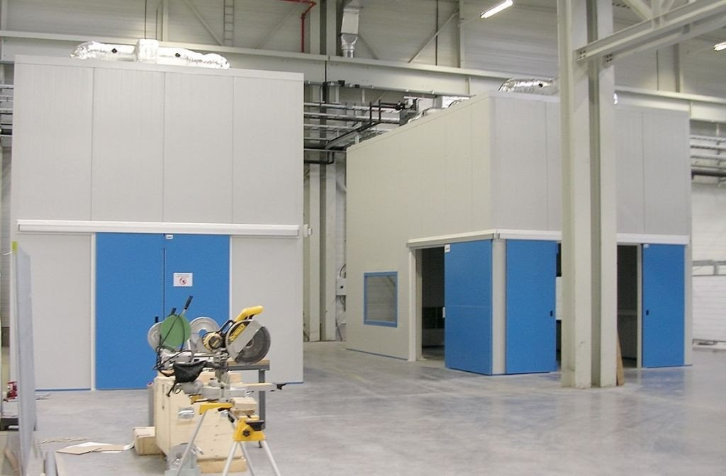Acoustic measuring booth made-to-measure