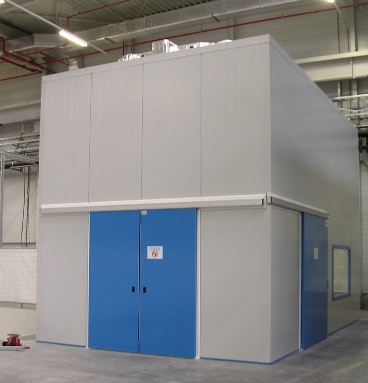 Acoustic measuring-room