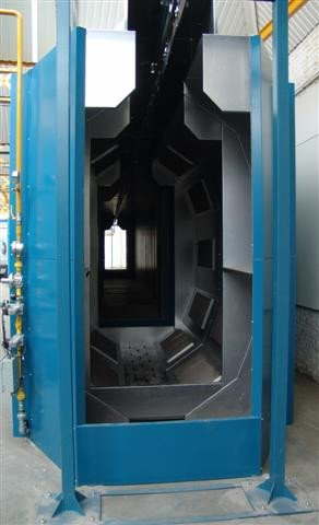 Oven using gas catalytic infra-red cure technology