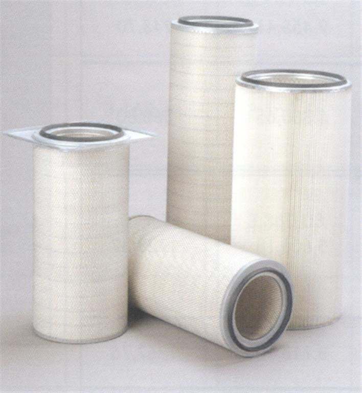 Air filtration by high efficiency cartridge filters used in powder coating equipment