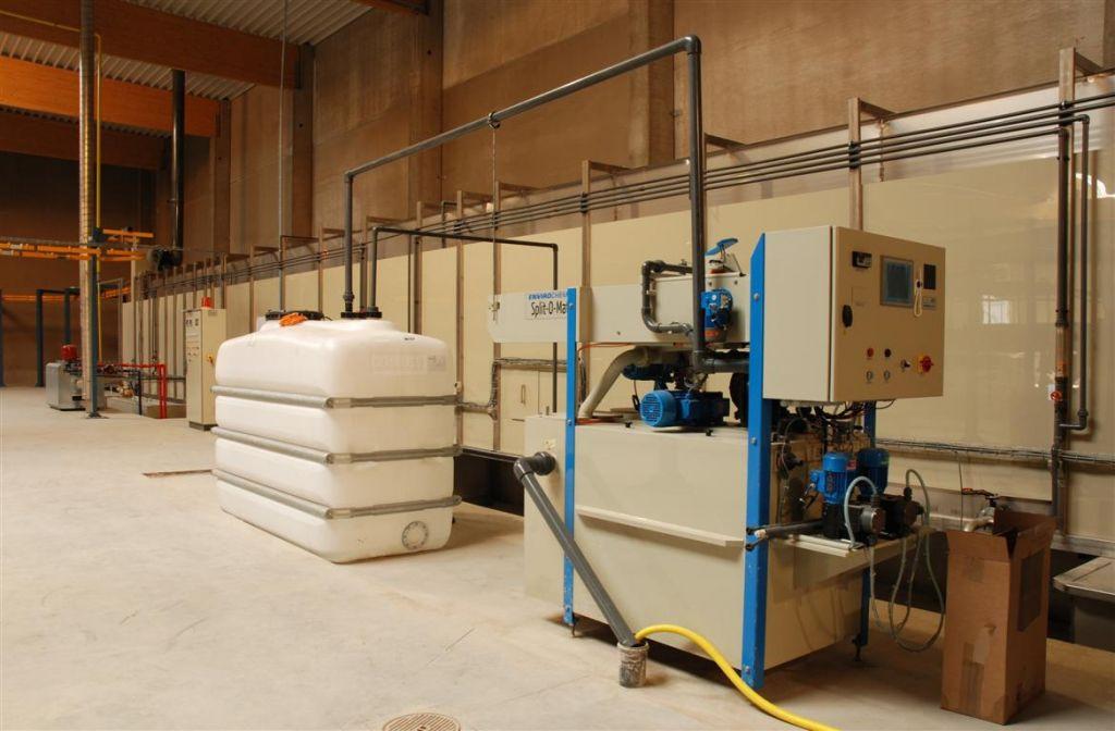 Moderne afvalwaterzuiveringsinstallatie
