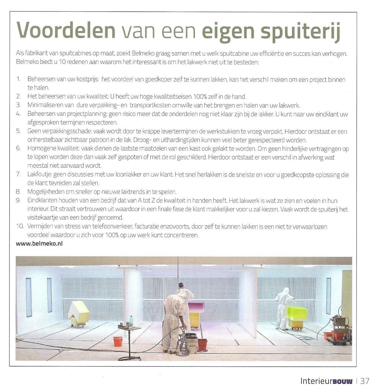 artikel interieurbouw, mei 16