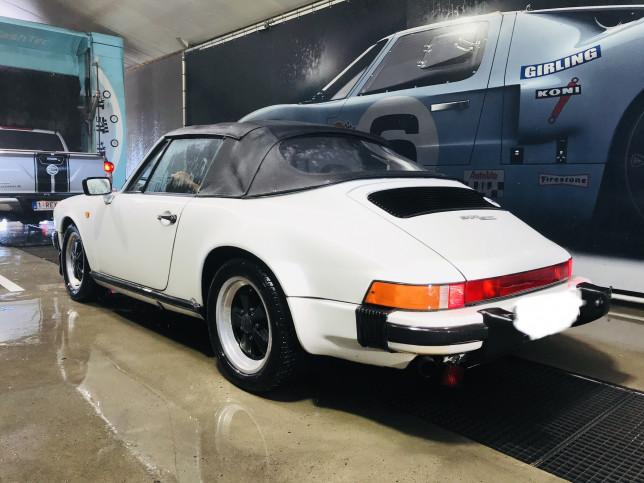 witte porsche turbo ae cars