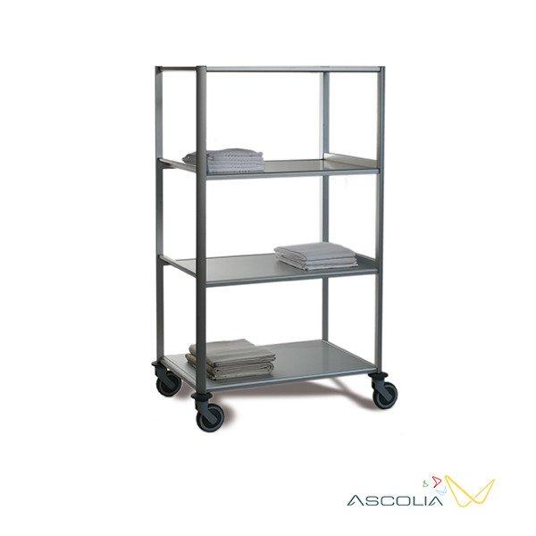aluminium linnenwagen