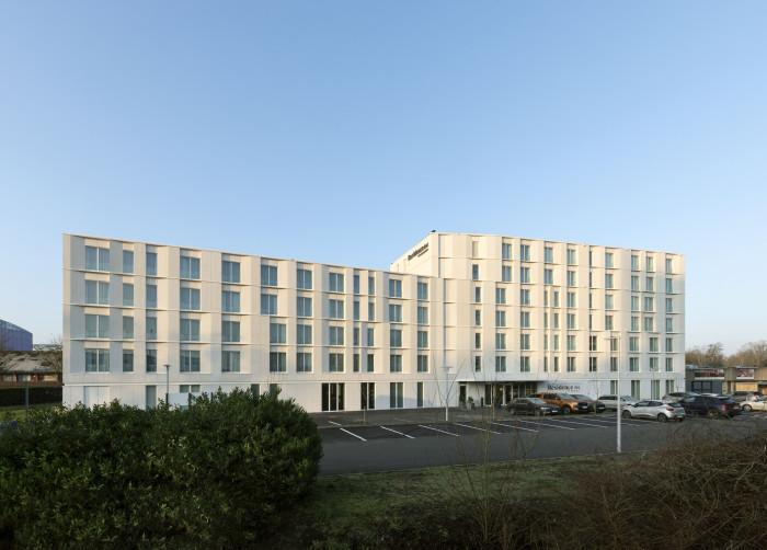 Thuiskomen in hotel Residence Inn by Marriott in Gent