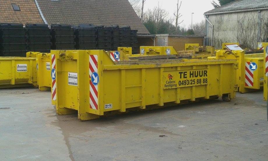Afzetcontainer 10m³