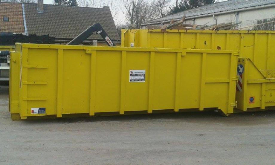 Afzetcontainer 20m³