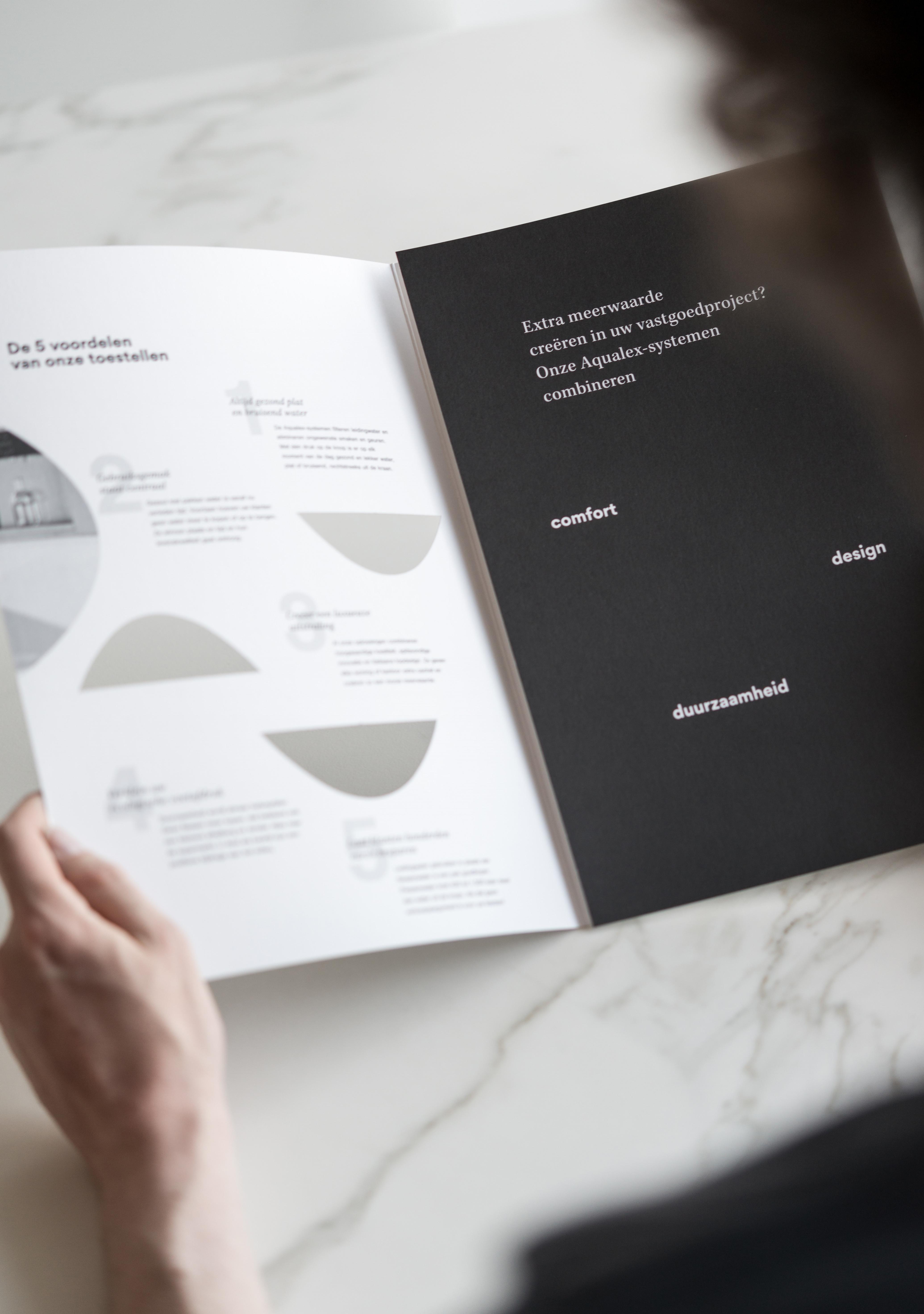 Combinatie van copywriting en grafisch ontwerp