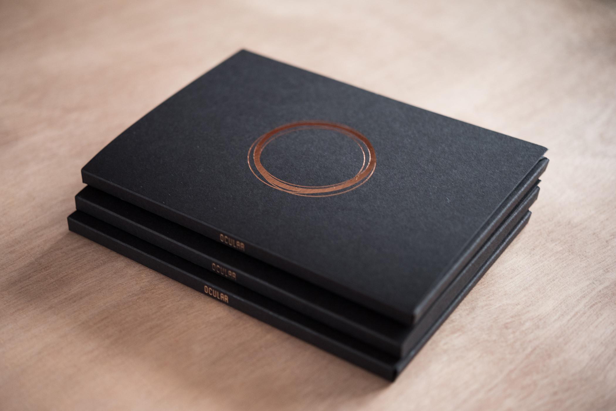 Dit stijlvolle bedrukte doosje is een perfect alternatief voor een gewone brochure
