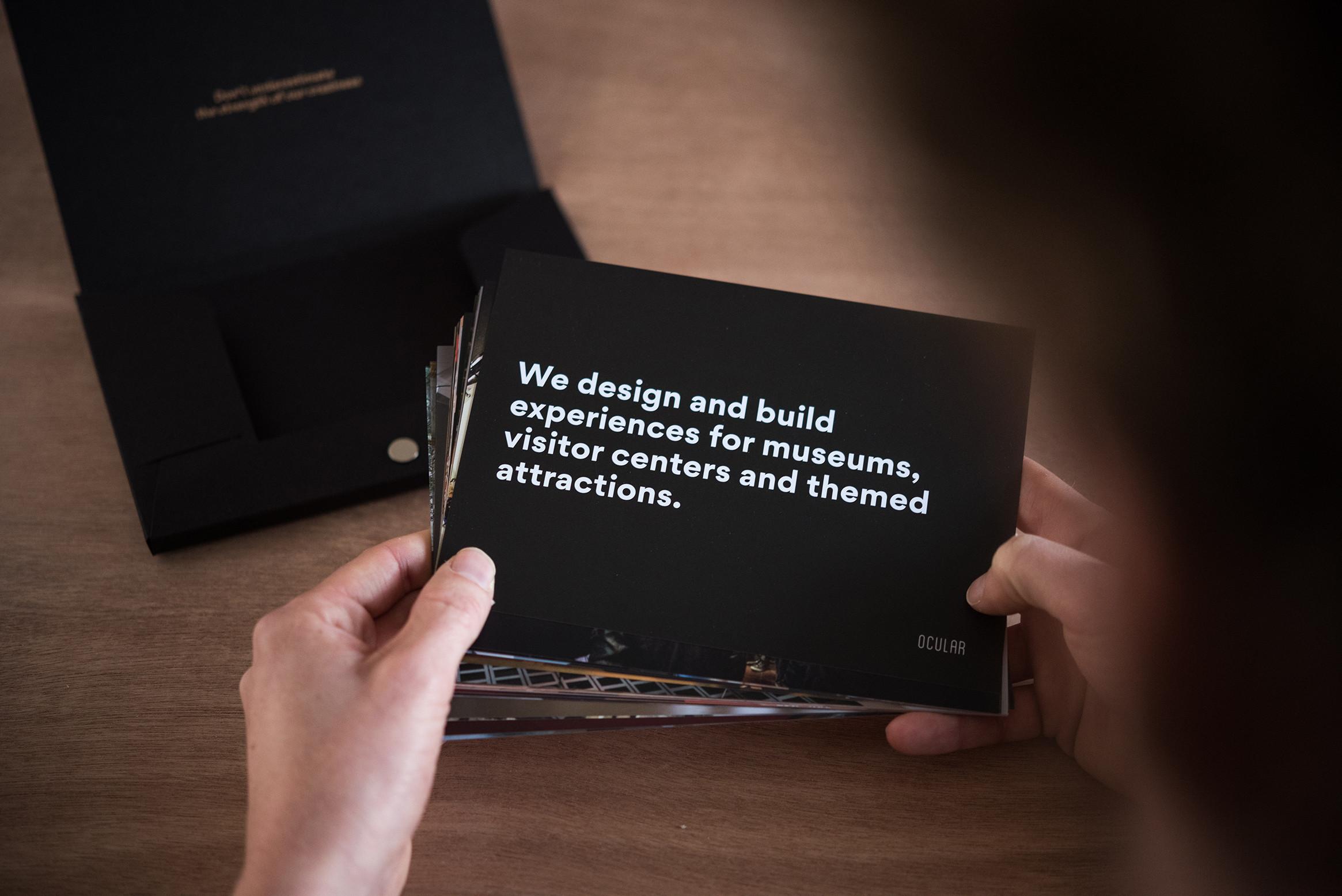 Op zoek naar creatief marketingmateriaal, anders dan anders? Voor Ocular creëerden we dit bijzonder doosje.
