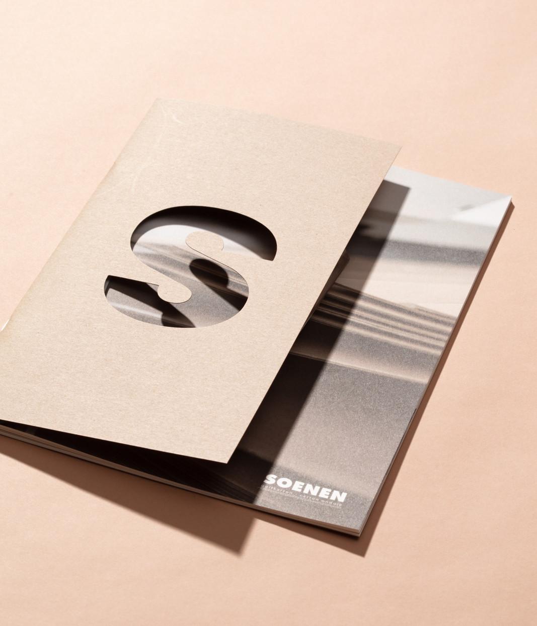 Kapvorm voor b2b-brochure