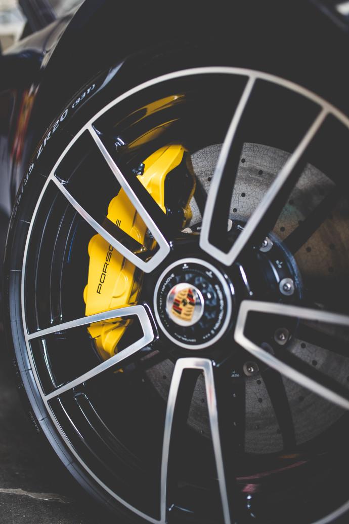 Porsche 992 Turbo S Cabrio