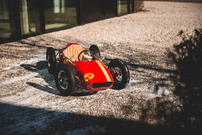 Devillaine Ouragan Ferrari Child's car 1967