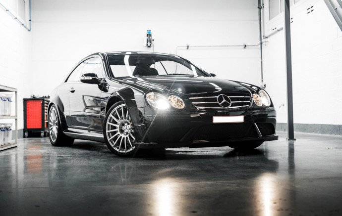 Mercedes CLK 6.3 AMG Black Series