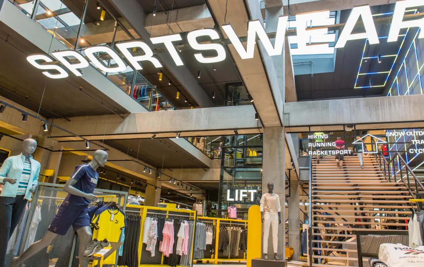 Realisatie voor het Sportline sportcafé