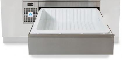 Toepassingen •Brengt koeling in het hart van de kooklijn. •Bulkopslag recht op het...