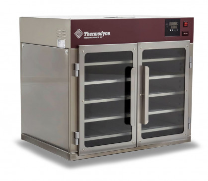 Thermodyne's 70Ct counteer-top slow cook and hold oven biedt voedselkwaliteit en...