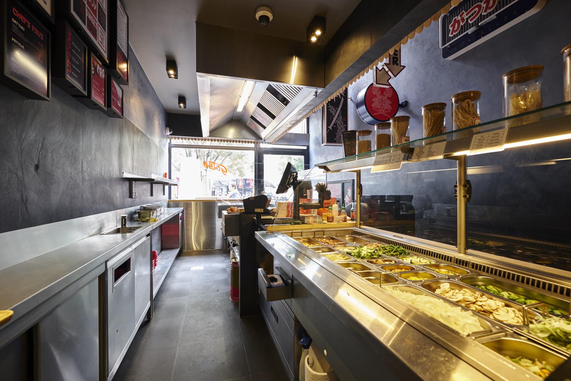 """Met zijn nieuw """"street food"""" of beter gezegd """"fast casual"""" concept biedt Gatsu Gatsu,..."""