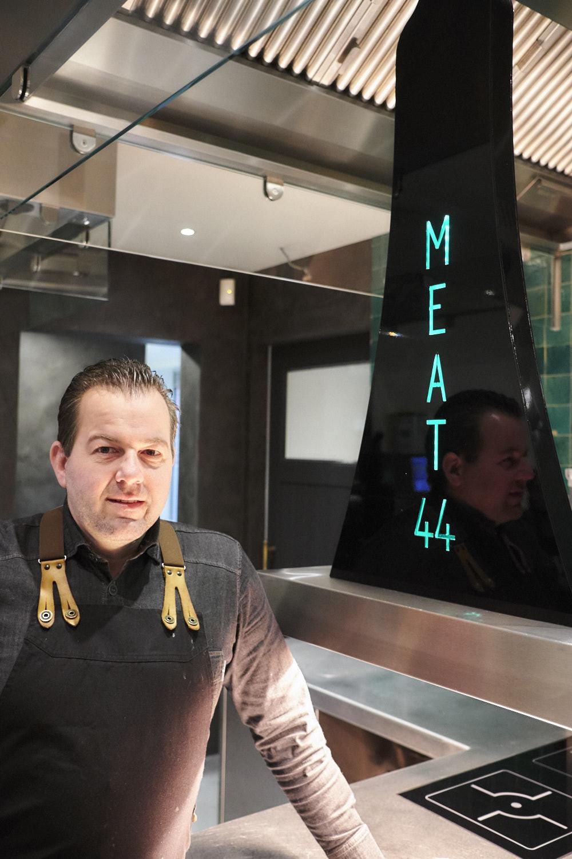 Welkom in het nieuwe walhalla voor meatbarlovers, Meat44 ! Een toprealisatie voor CD Constructs...