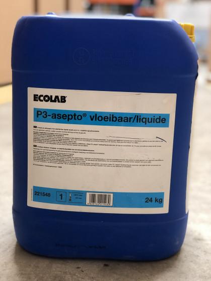 Vloeibaar, alkalisch reinigings-en desinfectiemiddel op basis van actief...