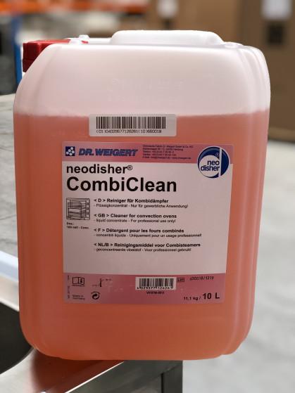 Reiniger voor combisteamers, Vloeibaar concentraat Verwijdert vet- en eiwitresten en...