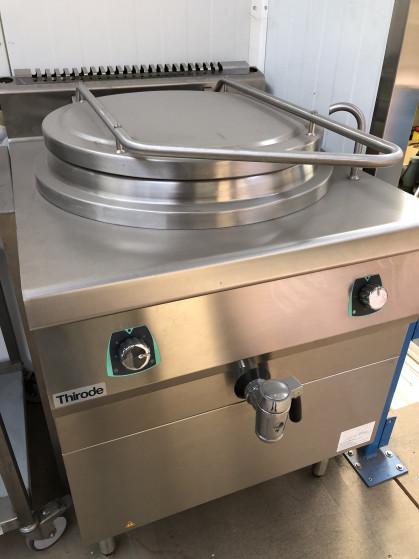 Volledig inox met dubbele kuip en waterinlaat Elektrische verwarming 18kw 400V Vrijstaand...