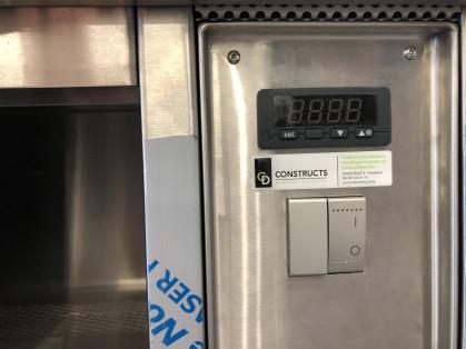 Uitvoering in RVS plaat type AISI 304, geborstelde afwerking korrel 320.Thermostatische &...