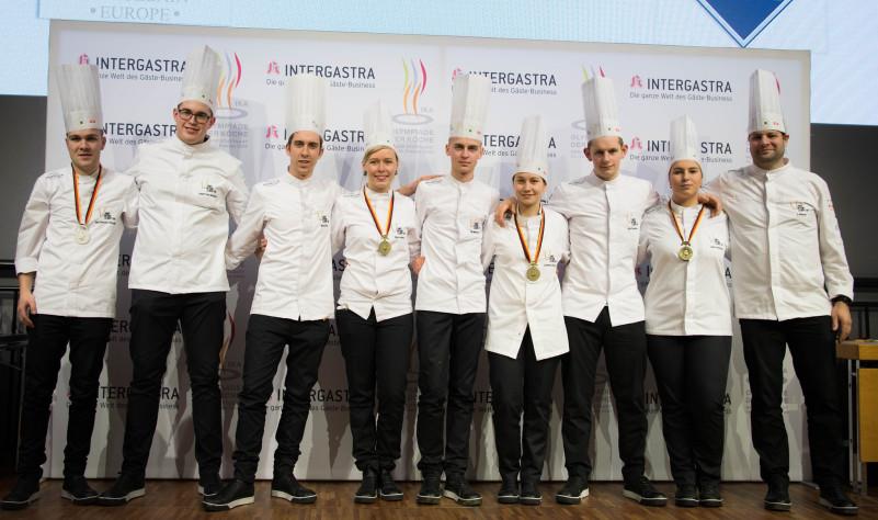Het Junior National Culinary Team onder leiding van Jo Nelissen zal ons land vertegenwoordigen tijdens internationale culinaire wedstrijden.