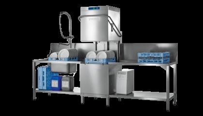 PROFI AMX De PROFI AMX doorschuif vaatwasmachine is de betrouwbare partner voor het wassen...