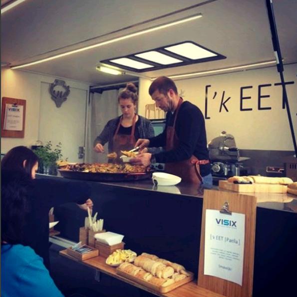 Voor K'EET foodtruck uit Roeselare mochten we deze hypercoole Big Ben aardappeloven afleveren....